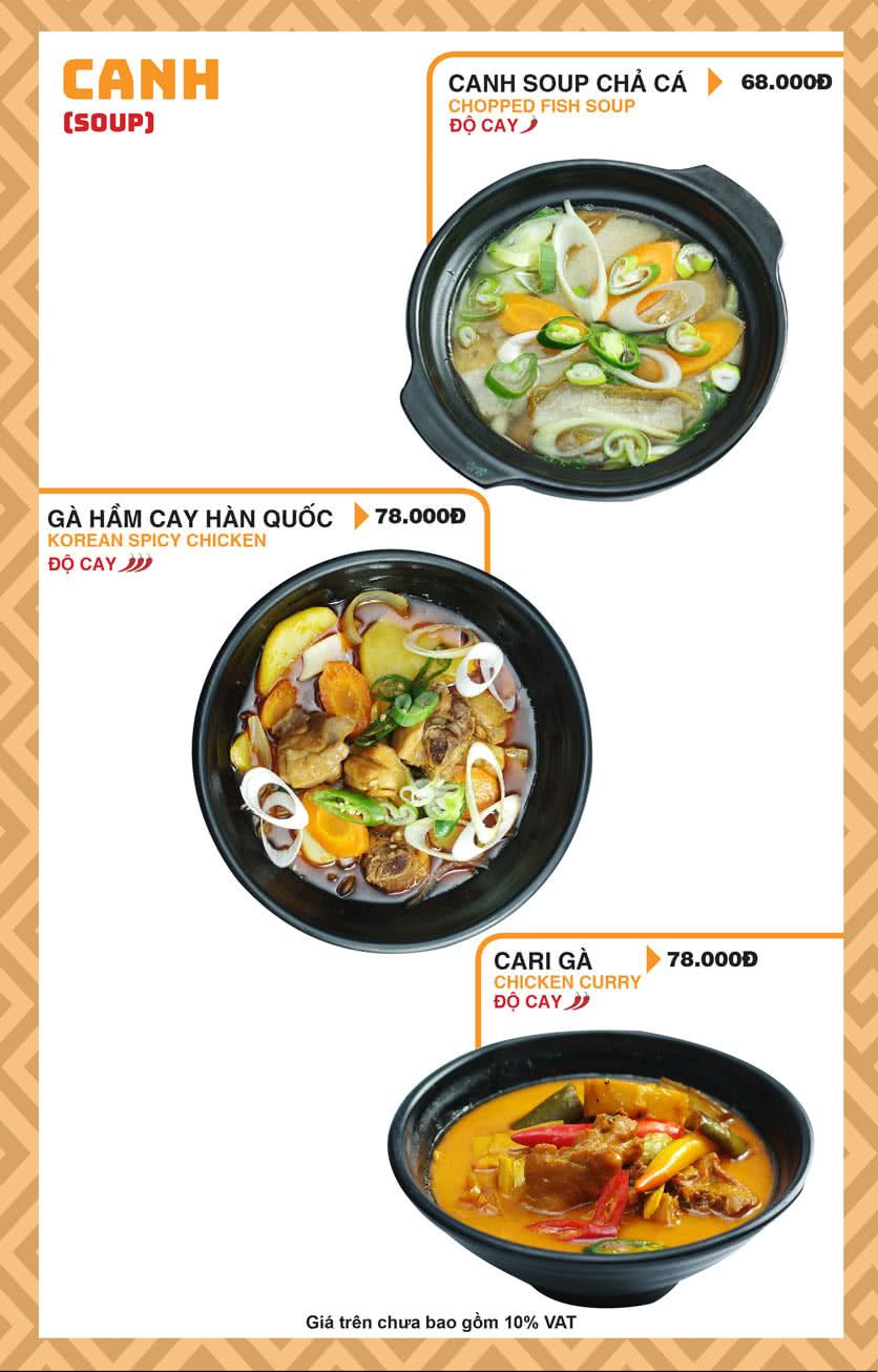 Menu Chick Kebabs - Cao Thắng  32