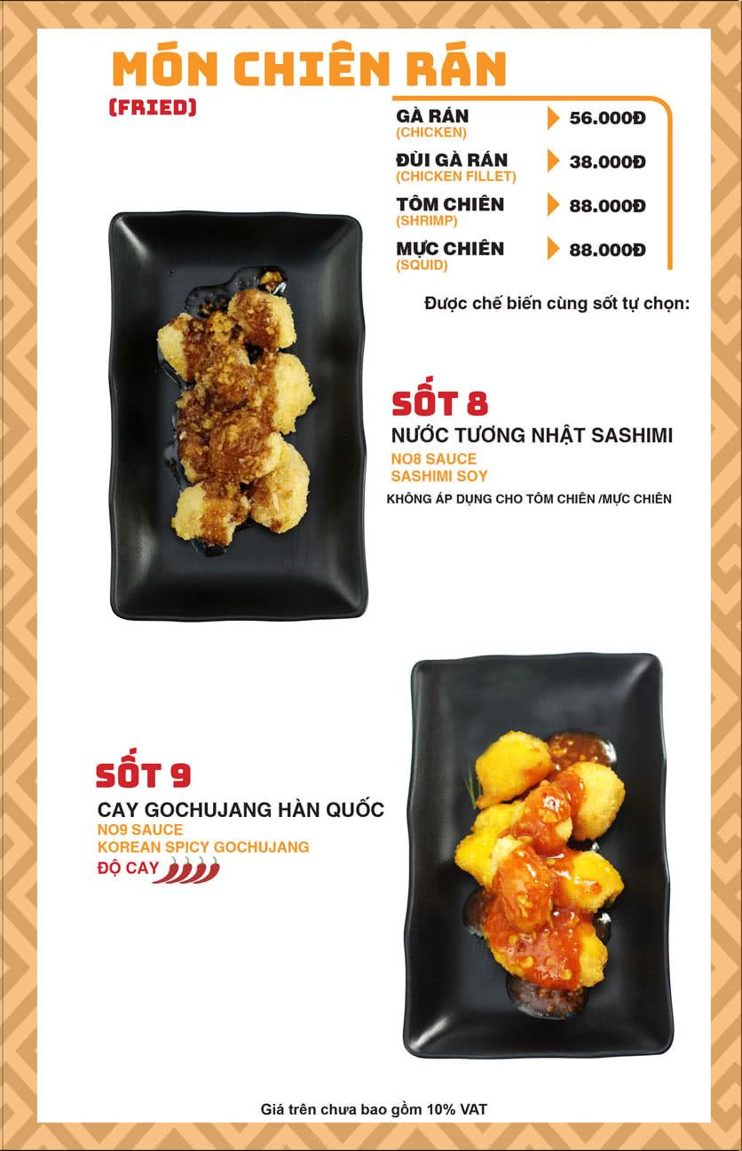 Menu Chick Kebabs - Cao Thắng  8