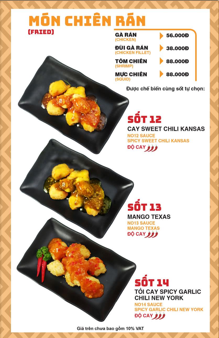 Menu Chick Kebabs - Cao Thắng  10