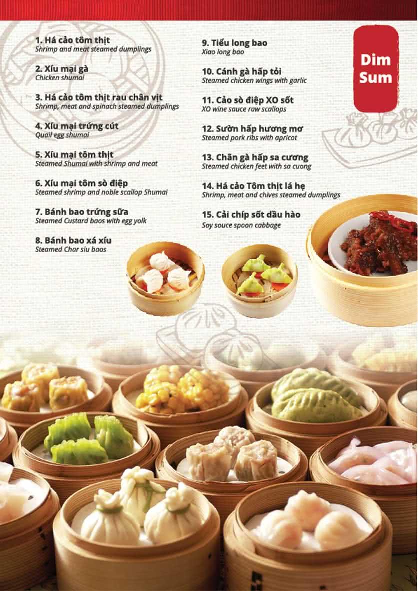 Menu Kowloon - Phạm Ngọc Thạch 5