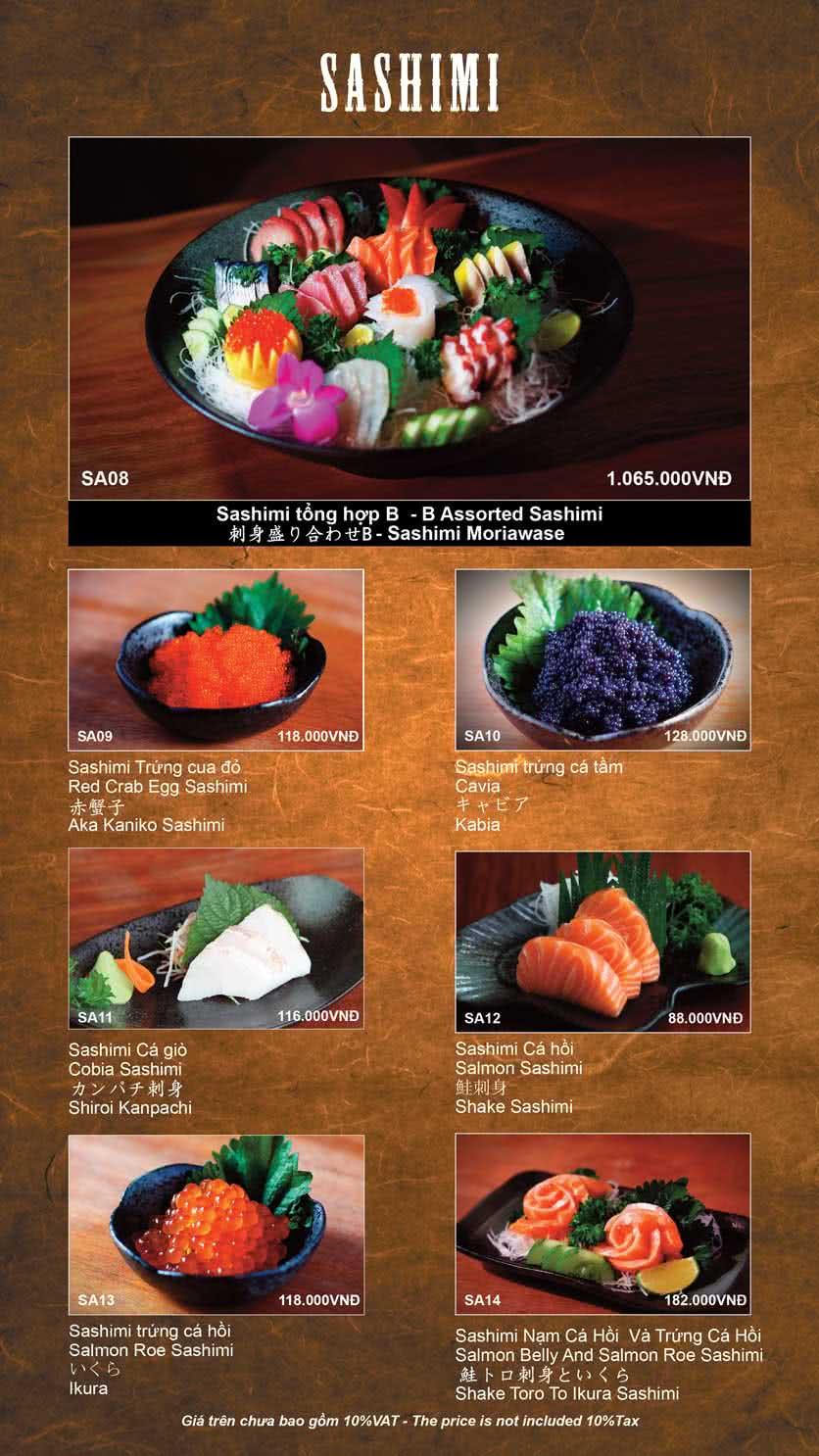 Menu Shinbashi 4