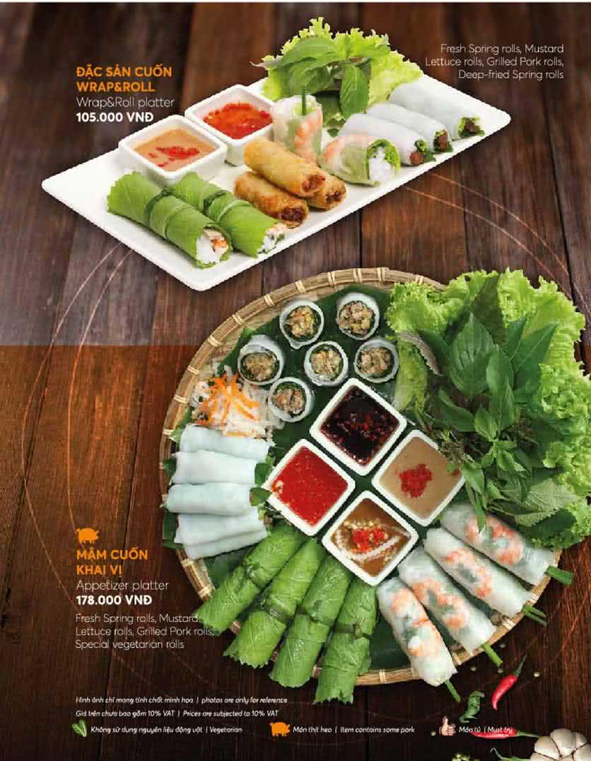 Menu Wrap & Roll – Nguyễn Đức Cảnh   8