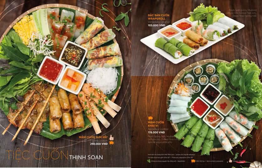 Menu Wrap & Roll - Nguyễn Chí Thanh  3