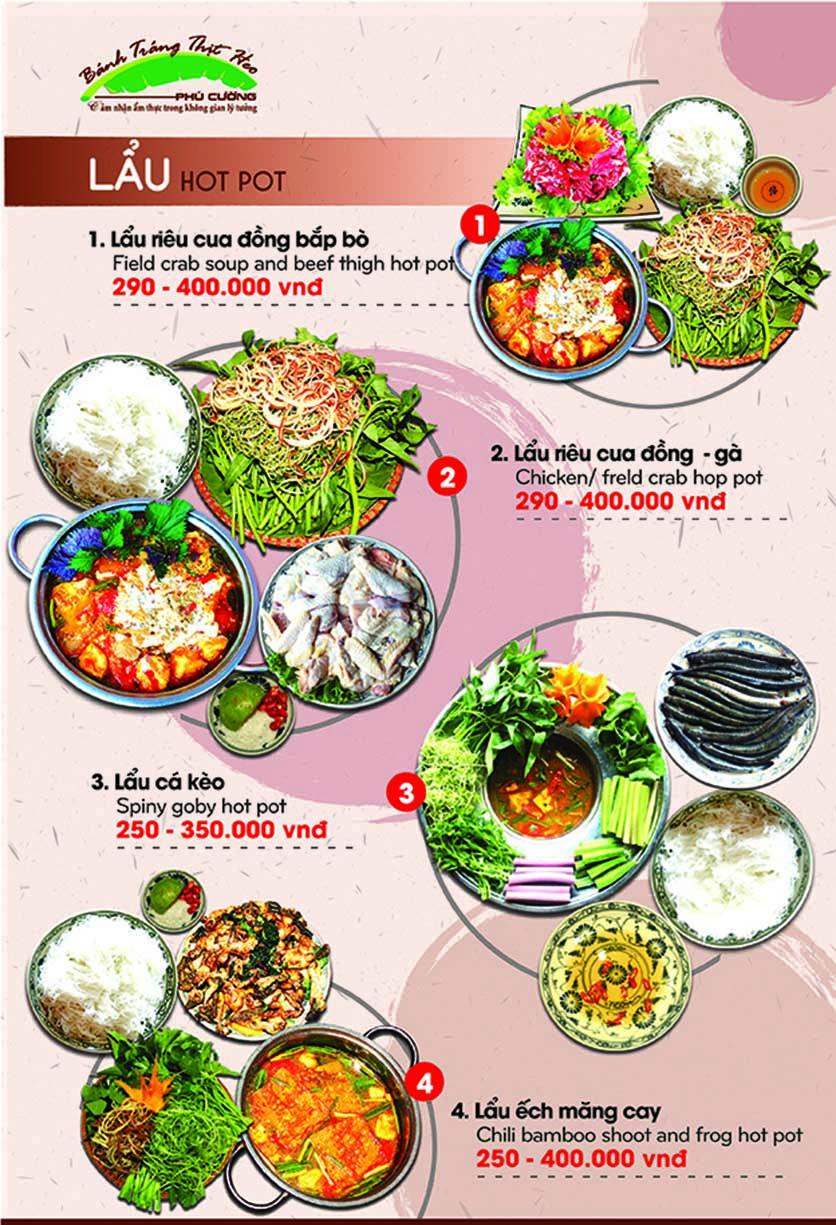 Menu Bánh Tráng Thịt Heo - Hà Đông  13