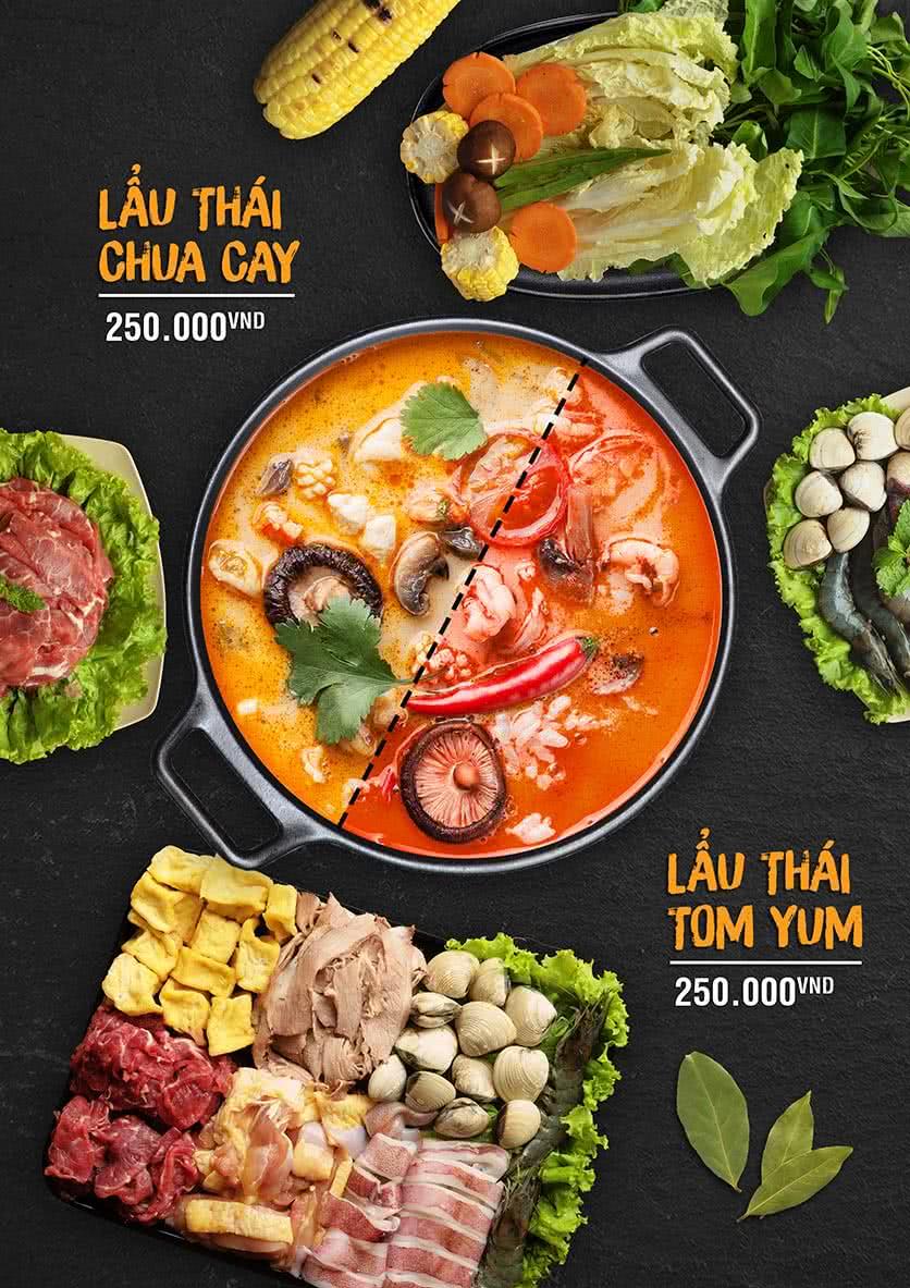 Menu Food Street – Ô Chợ Dừa 1