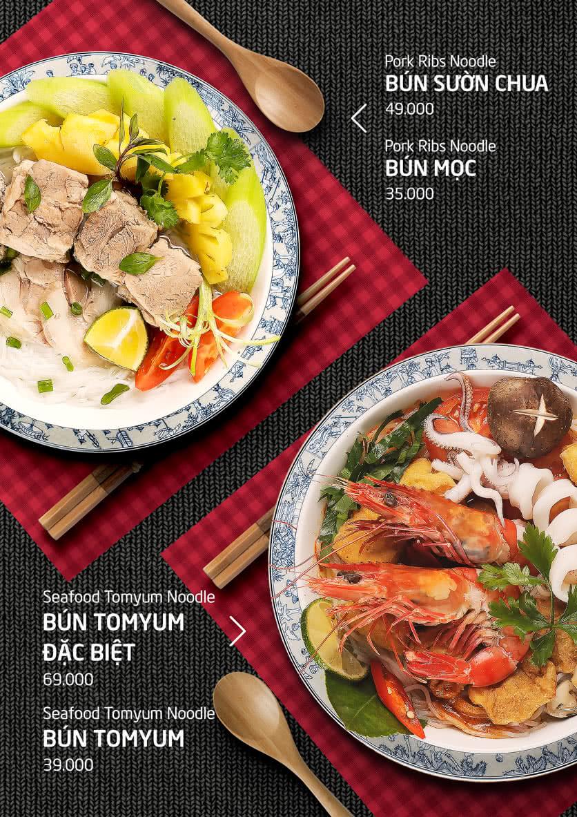 Menu Food Street – Ô Chợ Dừa 11