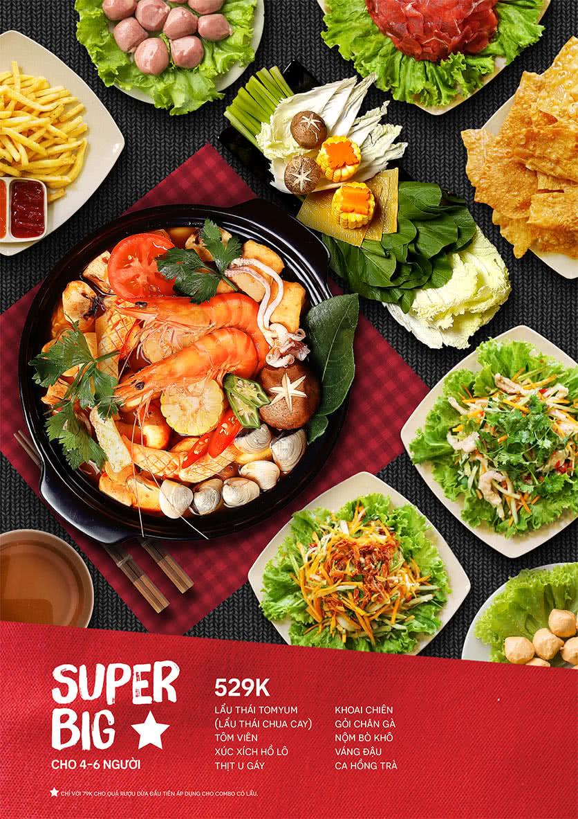 Menu Food Street – Ô Chợ Dừa 12