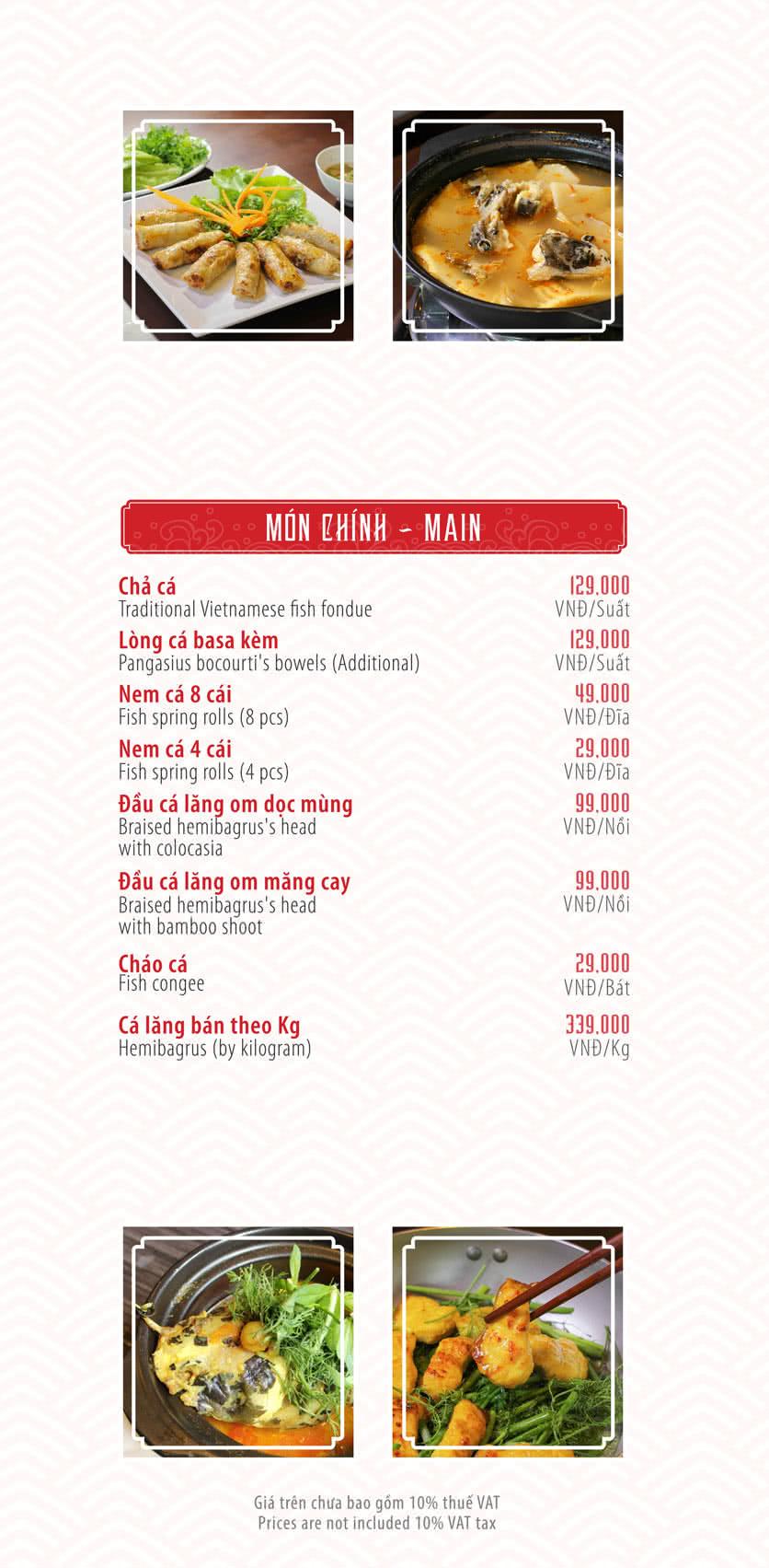 Menu Chả Cá Ngon - Nguyễn Cơ Thạch 3