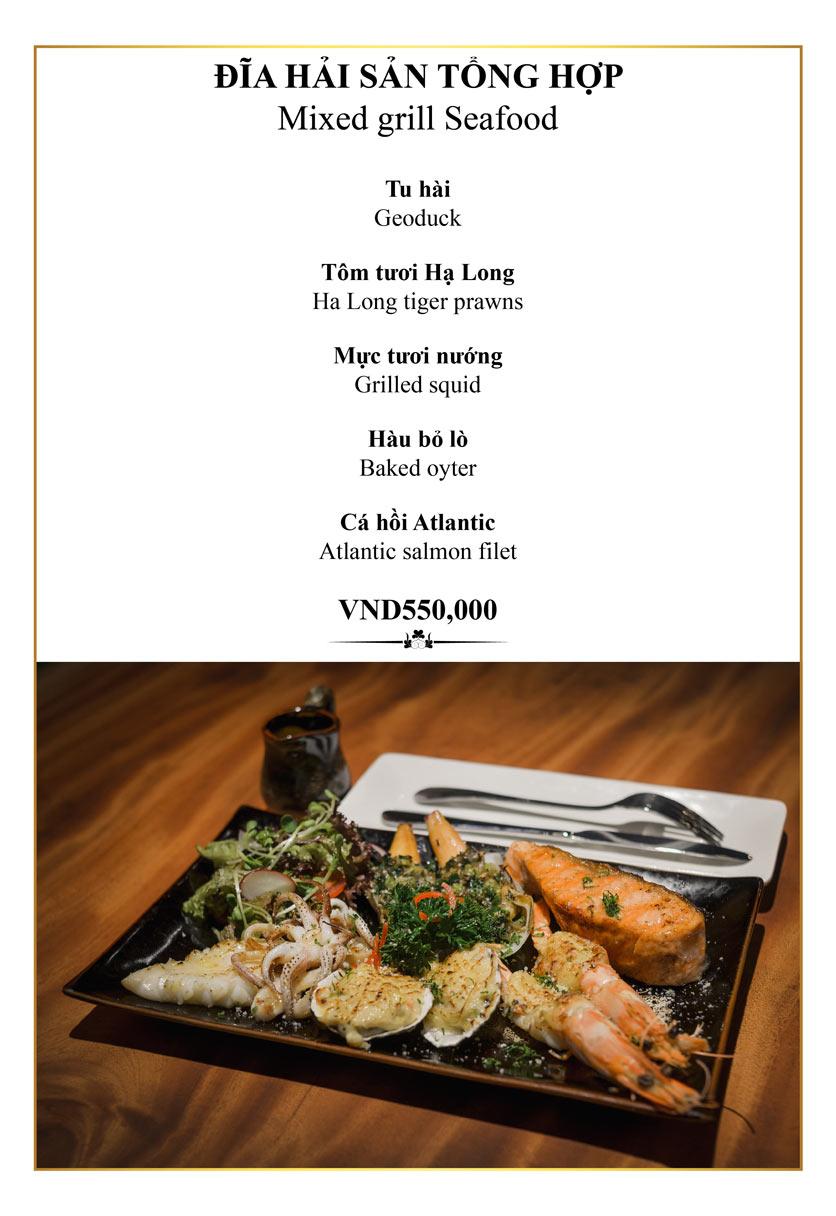 Menu Authonly Kitchen And Drinks - Lý Nam Đế 15
