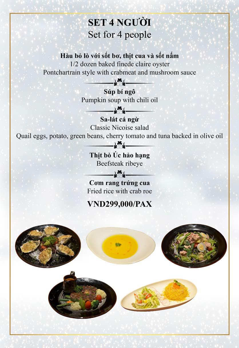 Menu Authonly Kitchen And Drinks - Lý Nam Đế 3