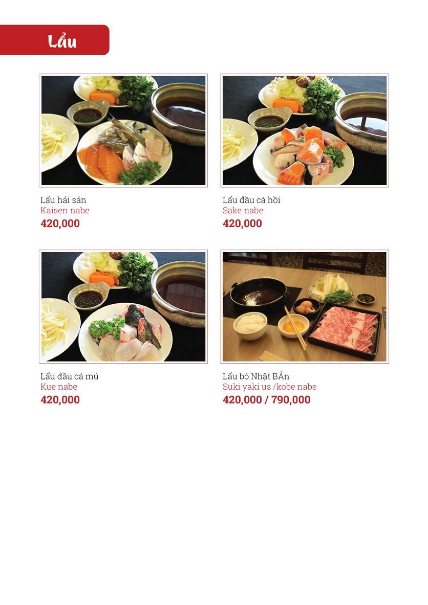 Menu Sushi Ginza - Nguyễn Thiện Thuật 16