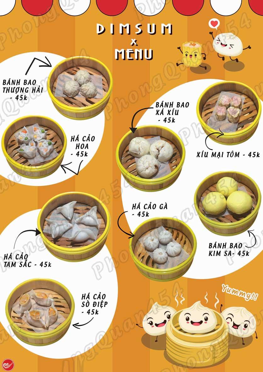 Menu Phong Quán - Bạch Đằng 3