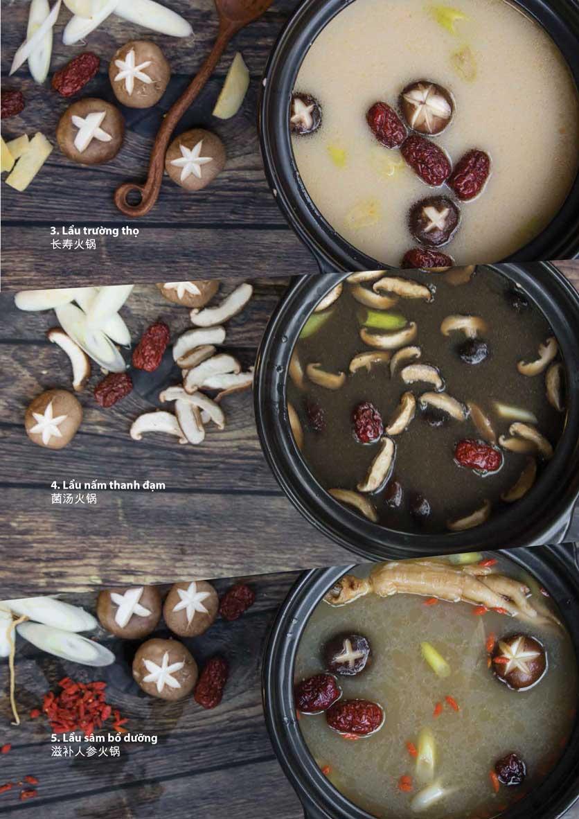 Menu San Xi Lou Hotpot - Láng Hạ 3