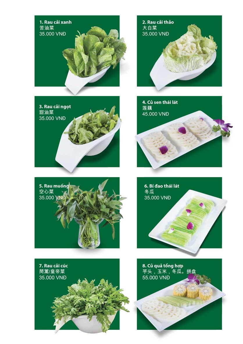 Menu San Xi Lou Hotpot - Láng Hạ 13