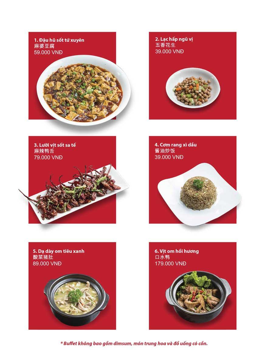 Menu San Xi Lou Hotpot - Láng Hạ 19