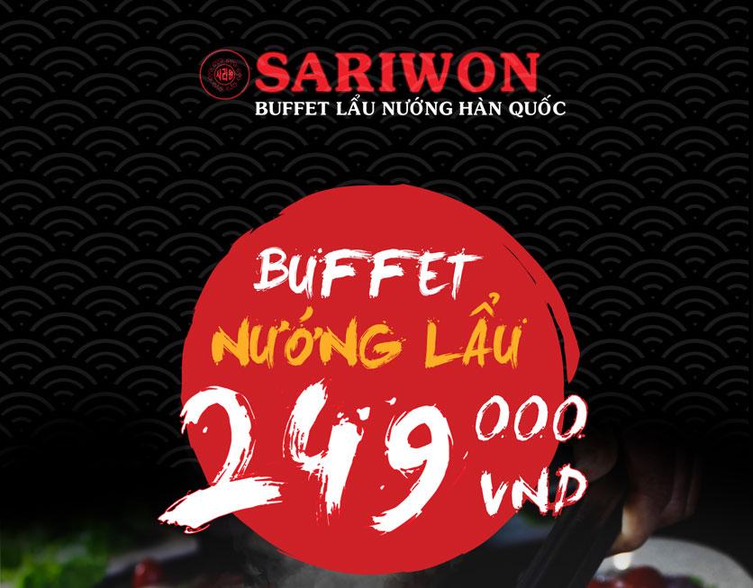 Menu Sariwon - Vincom Bắc Từ Liêm  3