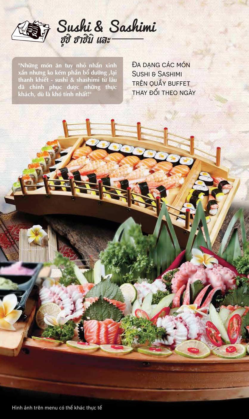 Menu Thái BBQ - Times City 3