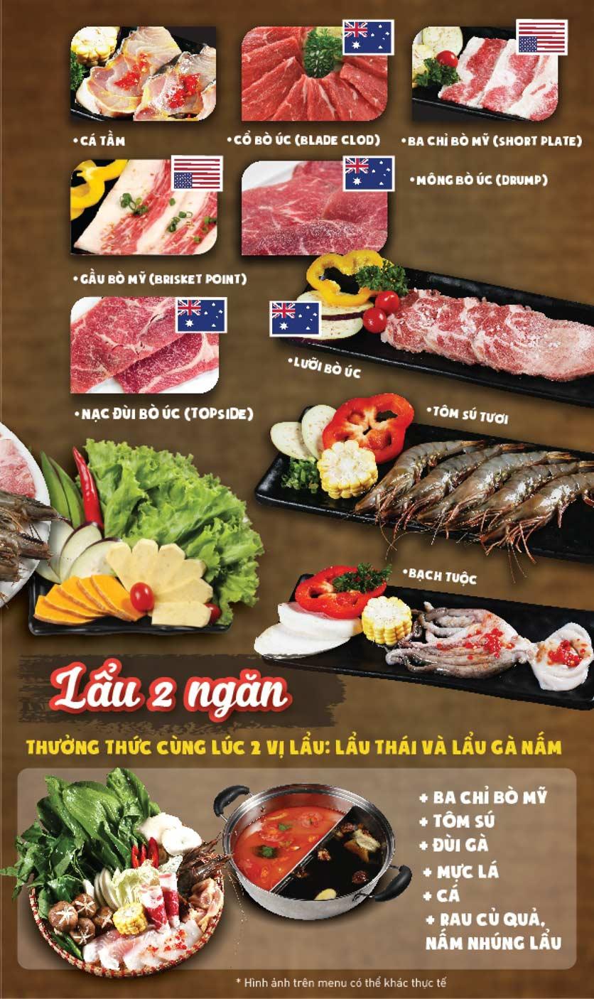 Menu Thái BBQ - Times City 6