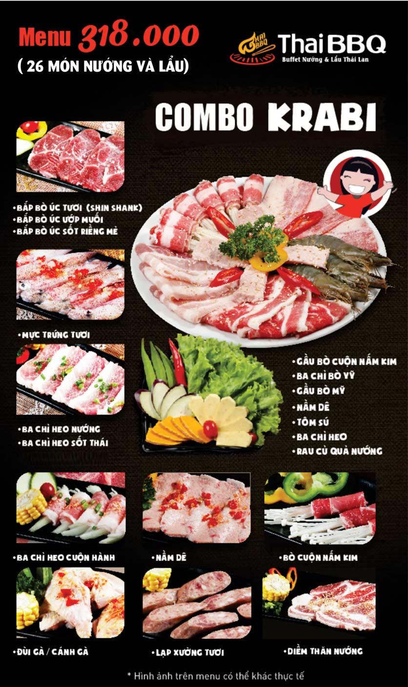 Menu Thái BBQ - Times City 7