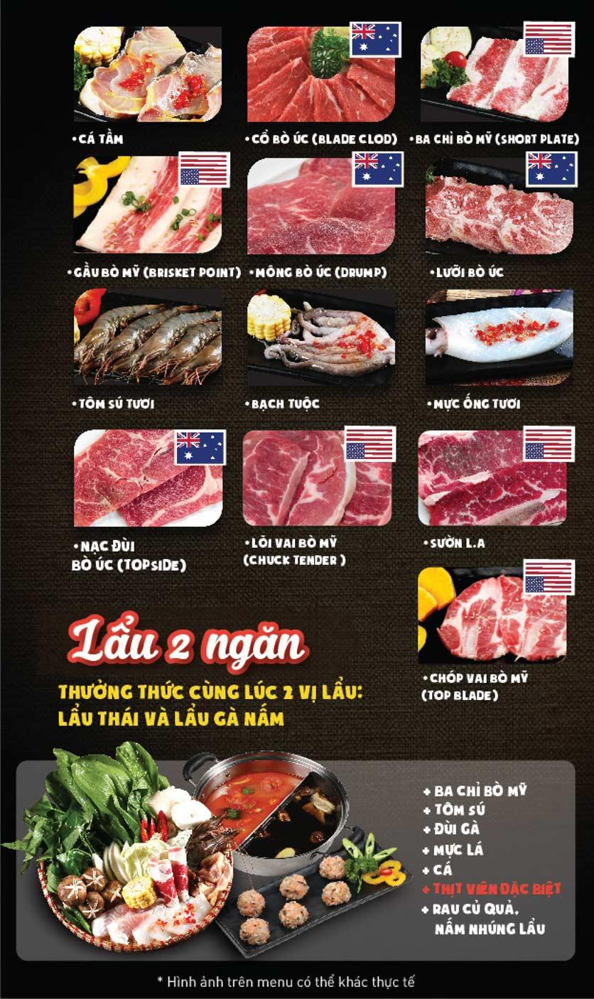 Menu Thái BBQ - Times City 8