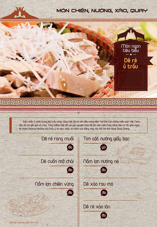 Menu Dê Ré Song Dương - Hàn Thuyên 11