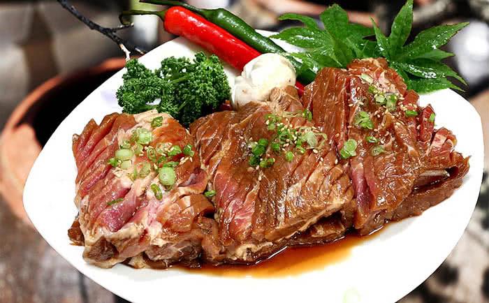 nhà hàng Kpop BBQ món ăn 1