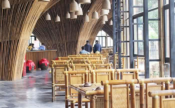 Nhà hàng Lã Vọng – Lẩu Cua Đồng không gian 1