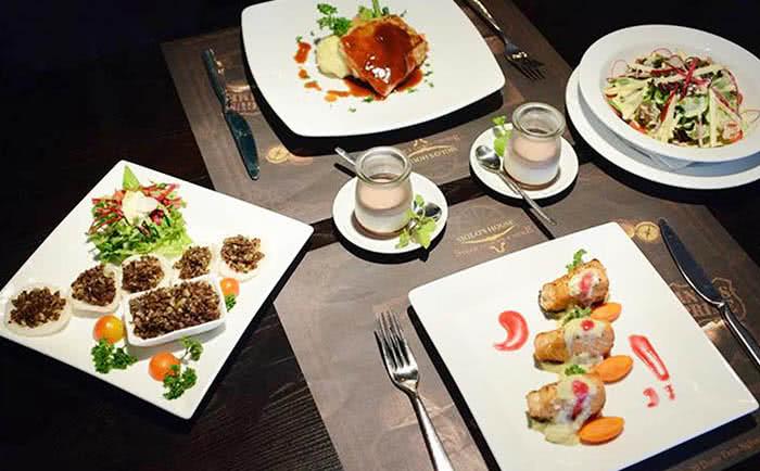 nhà hàng Siglo's house 20 đoàn trần nghiệp món ăn 1
