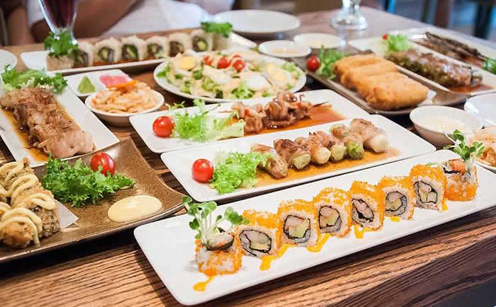 Nhà hàng YummyQ 107K Trương Định món ăn 1