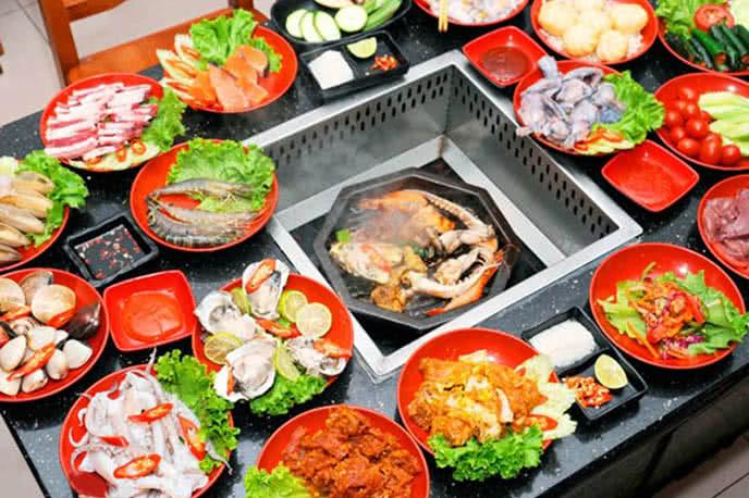 nhà hàng buffet ngon hà nội 12