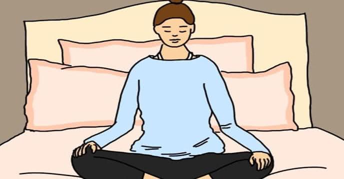 10 bài tập yoga thực hiện trước khi đi ngủ rất tốt ảnh 1
