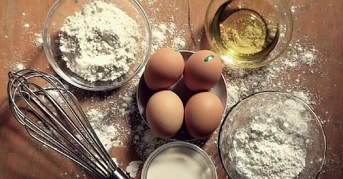 cách làm bánh gato bằng nồi cơm điện 1