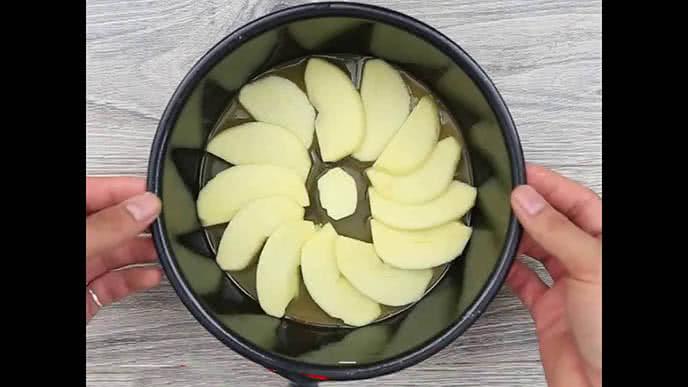 Làm bánh táo úp ngược bằng nồi cơm điện trong tích tắc ảnh 2