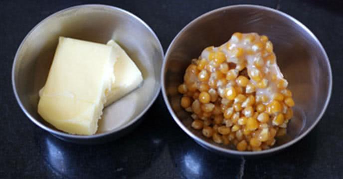 Cách làm bắp rang bơ bằng nồi cơm điện và bằng chảo ảnh 1