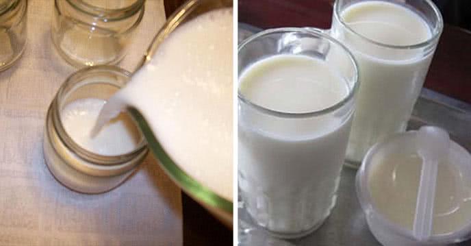2 cách làm sữa chua uống cực ngon không cần máy ảnh 3