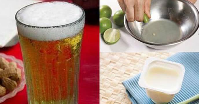 Cách trị mụn cực hiệu quả từ bia mà không cần nặn ảnh 1