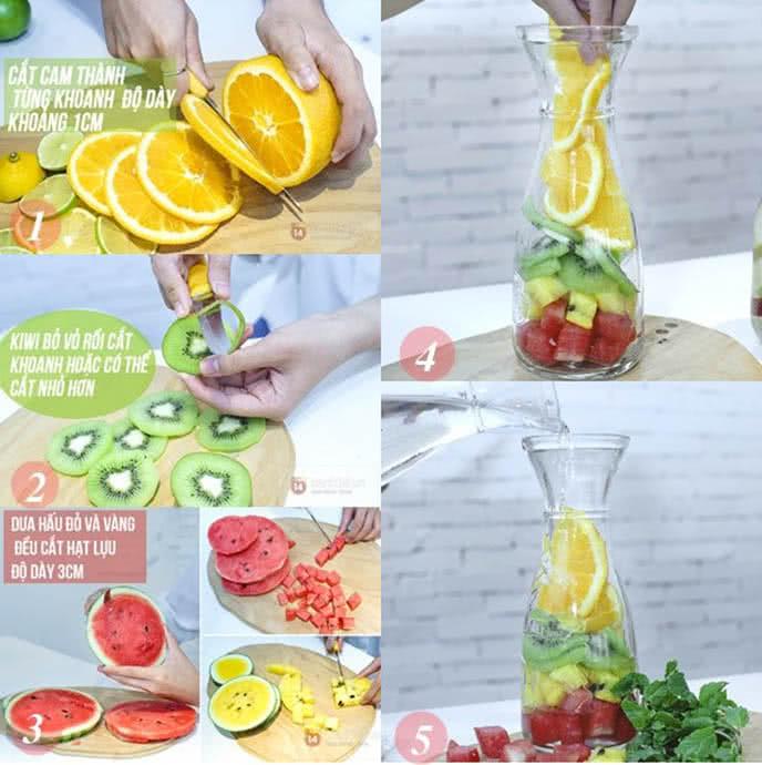 detox water loại nước thần giúp giảm cân thanh lọc cơ thể ảnh 2