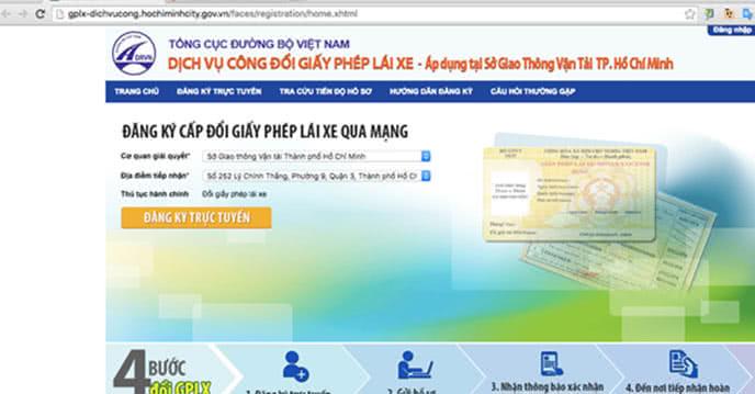 Cách đổi giấy phép lái xe từ giấy sang nhựa trên mạng ảnh 1