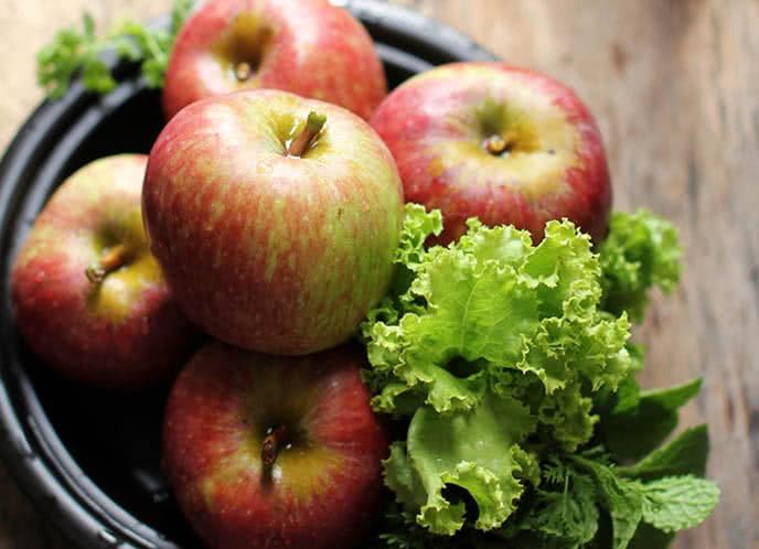 10phút có salad táo tuyệt ngon ăn kèm món gì cũng tuyệt 2