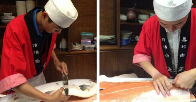 chuyện chưa kể về nghề nặn cầu vồng ở Sakyo Sushi 2