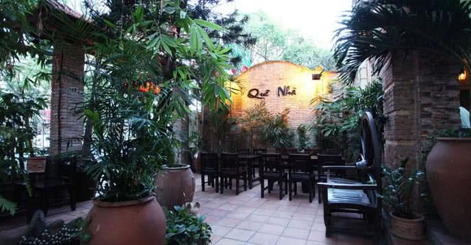 đi tìm góc vườn quê xanh mướt trên phố cafe 2