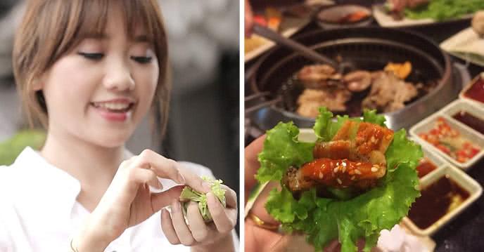 buffet lẩu nướng hàn quốc sariwon 1
