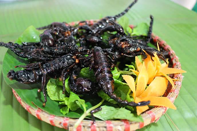 Top những món ăn kinh dị nhất thế giới ở Hà Nội ảnh 3