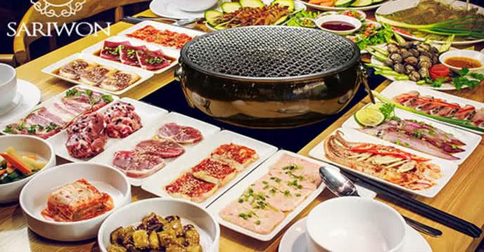 buffet sariwon nguyễn khánh toàn 1