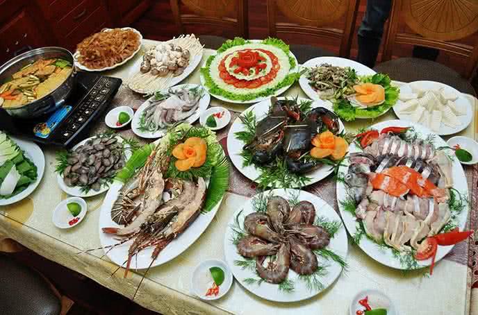 nhà hàng hải sản ngon ở hà nội 1