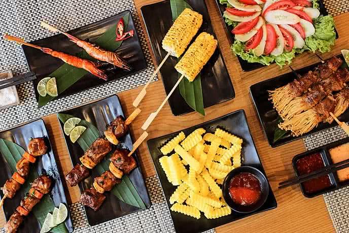 20 địa chỉ ăn đồ nướng bbq ngon rẻ, được yêu thích ở Hà Nội 1