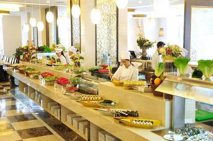 nhà hàng royal buffet review ảnh 1