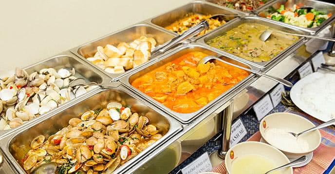 nhà hàng buffet con voi vàng ảnh 1