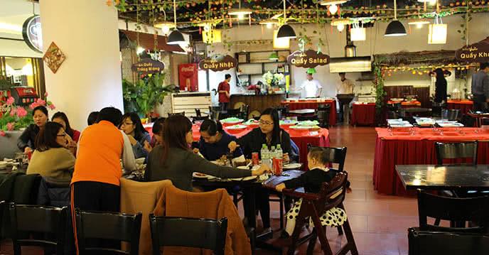 Nhà hàng Buffet Vườn Royal City không gian ảnh 2