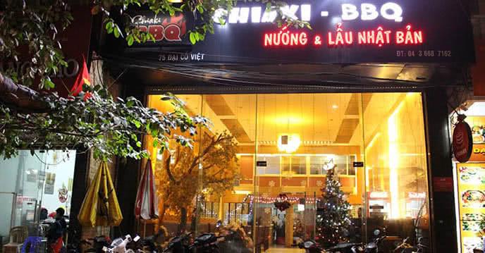 Chiaki BBQ 17 Đại Cồ Việt món ăn 1